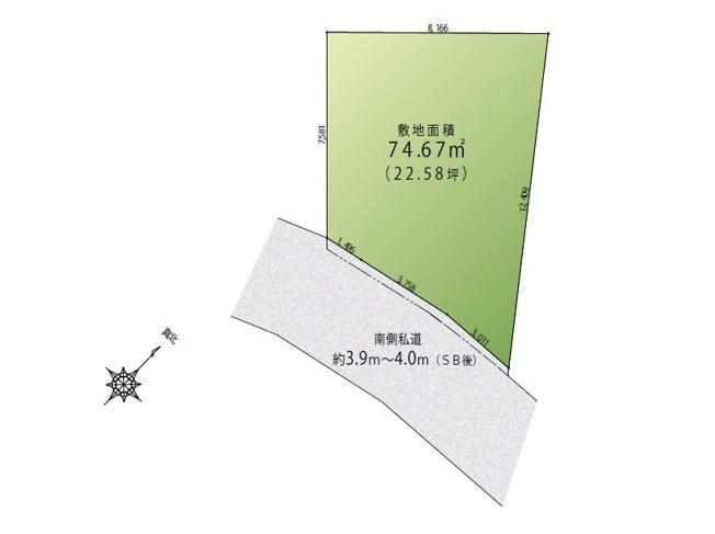 【土地図】恵比寿2丁目 売地