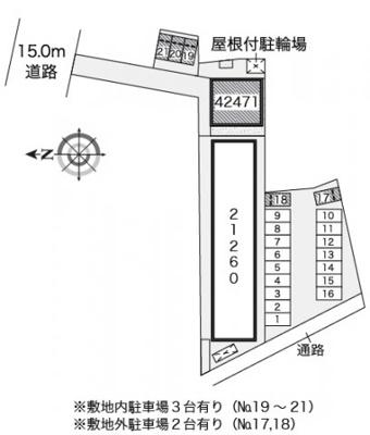 【区画図】レオネクスト仙北駅前Ⅱ
