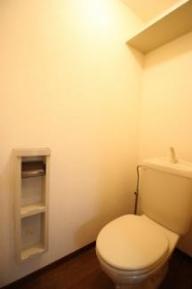 落ち着いたトイレです(同タイプ1F)