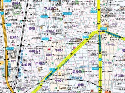 【地図】テラスレジデンス梅田東