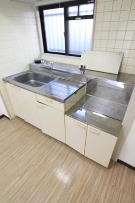 【キッチン】ロベリア弐番館