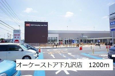 オーケーストア下九沢店まで1200m