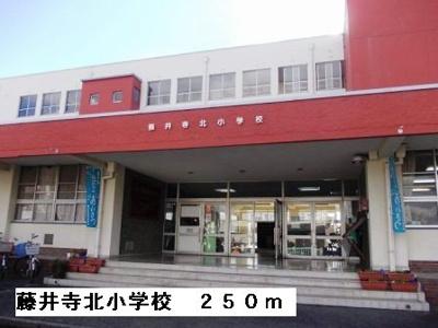 藤井寺北小学校まで250m