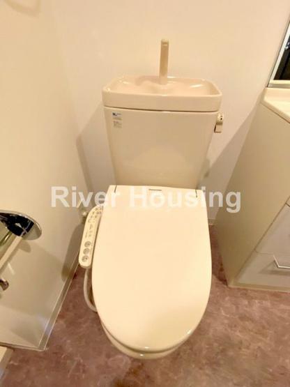 【トイレ】ラグジュアリーアパートメント西新宿