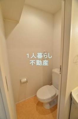 トイレも独立でキレイです