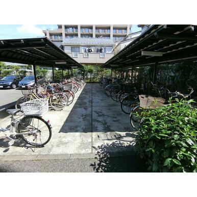 【駐輪場】小田急相模原パークホームズ