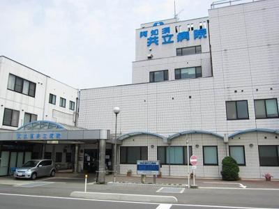 阿知須共立病院まで500m