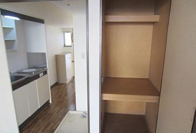 収納とキッチン