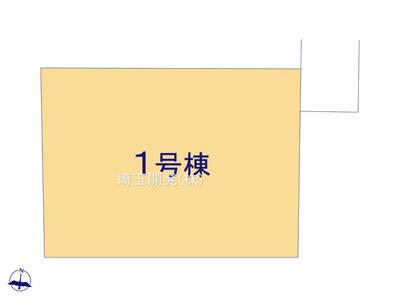 【区画図】新築戸建 入間仏子 全1棟