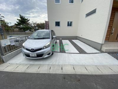 【駐車場】下阪本1丁目 分譲6区画1号地