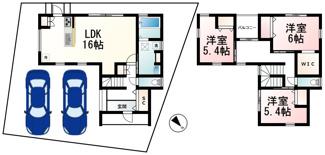 下阪本1丁目 分譲6区画1号地
