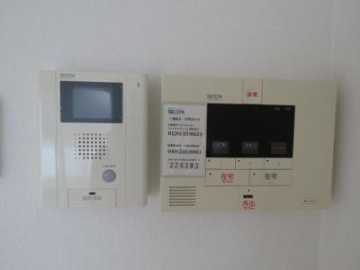 SECOMセキュリティ TVモニター付きインタフォン