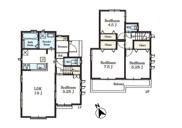 小平市上水新町1丁目 新築戸建 全19棟 B号棟~開放感のある大型分譲地♪~の画像