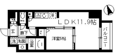 【居間・リビング】ファインクレスト入谷