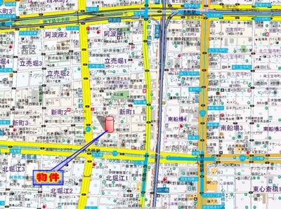 【地図】ACTY新町