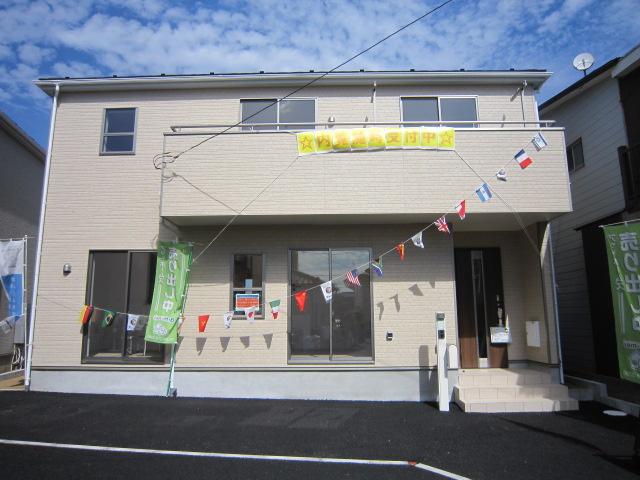 新築一戸建て 全2棟 大和田新田 南道路,全居室南向きの明るいお住まいです!仲介手数料無料です。