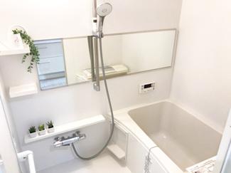 浴室交換済み・追い炊き付きのオートバス