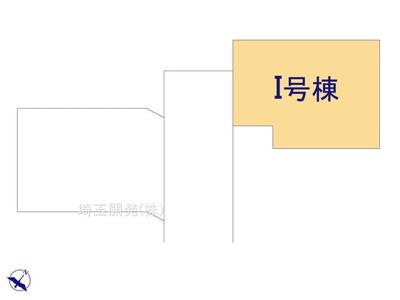 【区画図】新築分譲住宅 入間市小谷田15期 全13棟(I号棟)