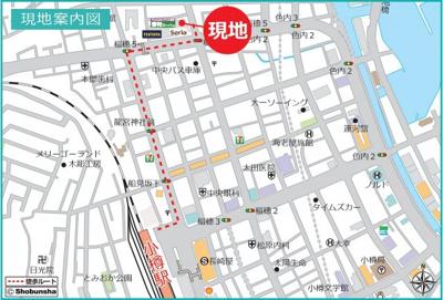 JR小樽駅徒歩10分、観光地も近いロケーション