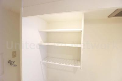 キッチン上収納棚