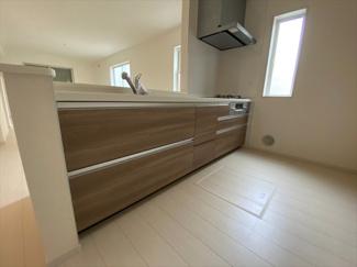 【キッチン】八潮市西袋新築戸建て【全3棟】