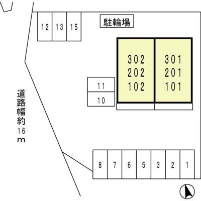 【区画図】サニーコート