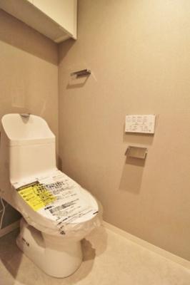 マイキャッスル府中いちょう通りWESTのトイレです。