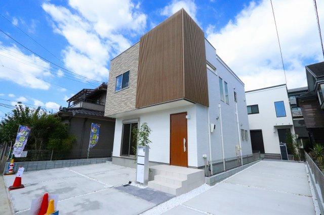 きれいな外観です:建物完成しました♪♪毎週末オープンハウス開催♪三郷新築ナビで検索: