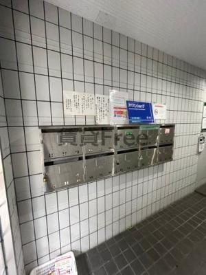 【ロビー】鹿島マンション 仲介手数料無料