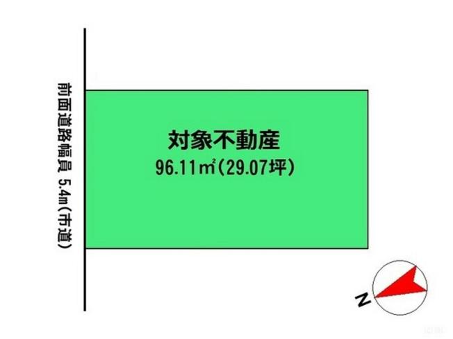 【区画図】海老名市東柏ヶ谷4丁目 中古戸建