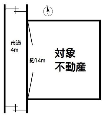 【区画図】加須市久下6丁目 売地