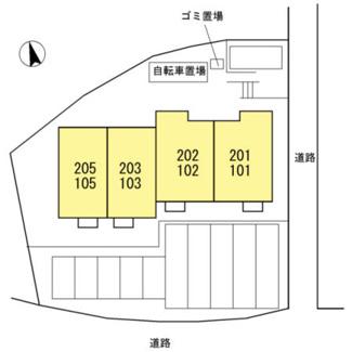【区画図】クレール メゾン