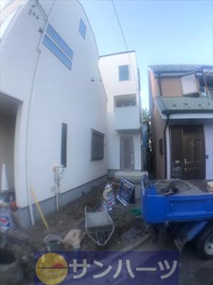【外観】葛飾区東堀切2丁目新築戸建て【全2棟】