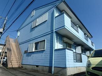 【外観】栃木県宇都宮市上横田町一棟アパート