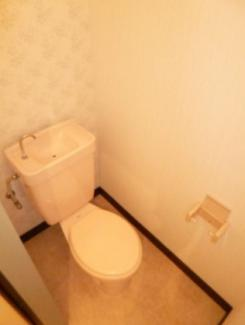 【トイレ】栃木県宇都宮市上横田町一棟アパート