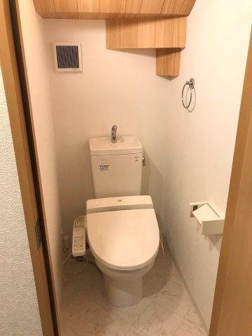 【トイレ】平成21年築!令和3年7月中旬リノベーション工事完了 新宿区西落合3丁目 中古戸建 5,680万