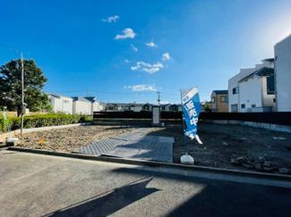 【外観】足立区東六月町新築戸建て【全2棟】