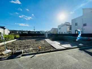 【前面道路含む現地写真】足立区東六月町新築戸建て【全2棟】