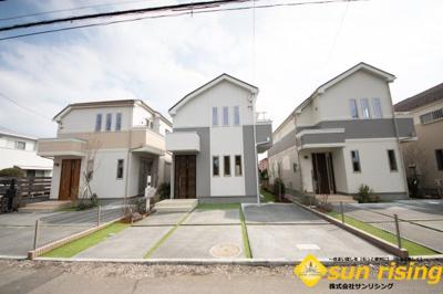 【外観】立川市上砂町3丁目 新築戸建 全7棟 B号棟