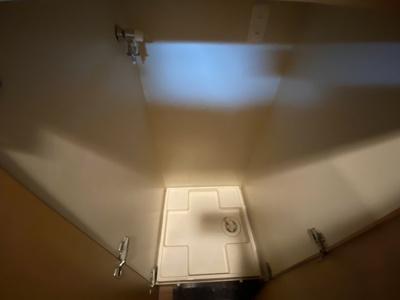 室内洗濯機置場も嬉しいですね