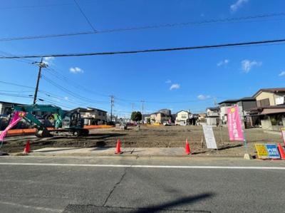 【前面道路含む現地写真】足立区平野3丁目新築戸建て【全15棟】