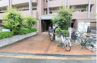 【駐輪場】パラシオ北梅田