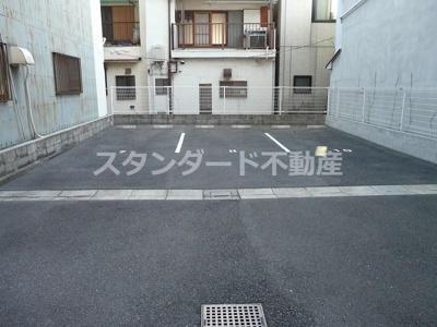 【駐車場】メゾンクラウン鷺洲