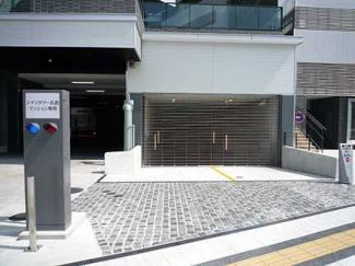 駐車場入口です