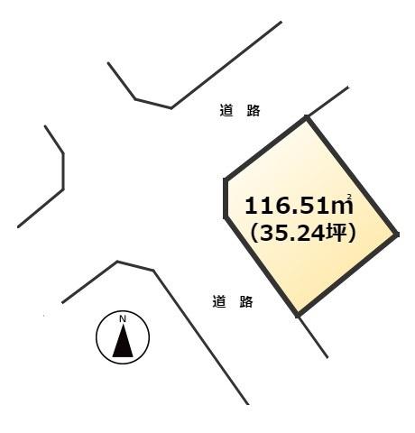 【土地図】東区大字弘土地