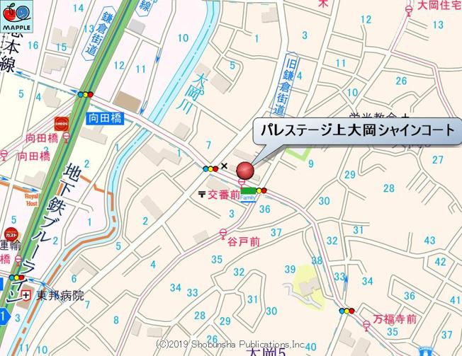 【地図】パレステージ上大岡シャインコート