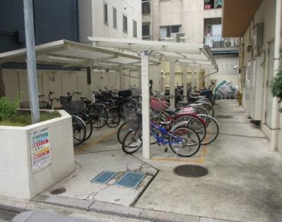 ヴェラハイツ亀戸参番館の駐輪場です。