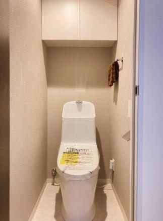 ヴェラハイツ亀戸参番館のトイレです。