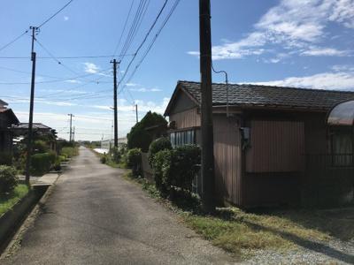【外観】北後谷売地