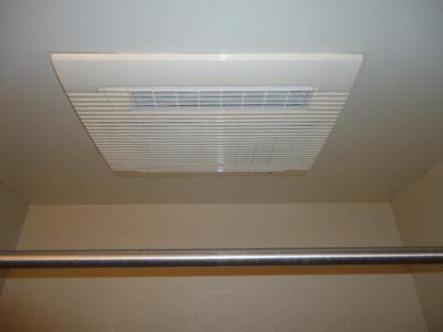 雨の日も安心の浴室換気乾燥機